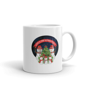 Love Is The Ultimate Gift Snowmen Christmas Custom Mug Love Is The Ultimate Gift Snowmen Christmas Custom Mug Love Is The Ultimate Gift Snowmen Christmas Custom Mug