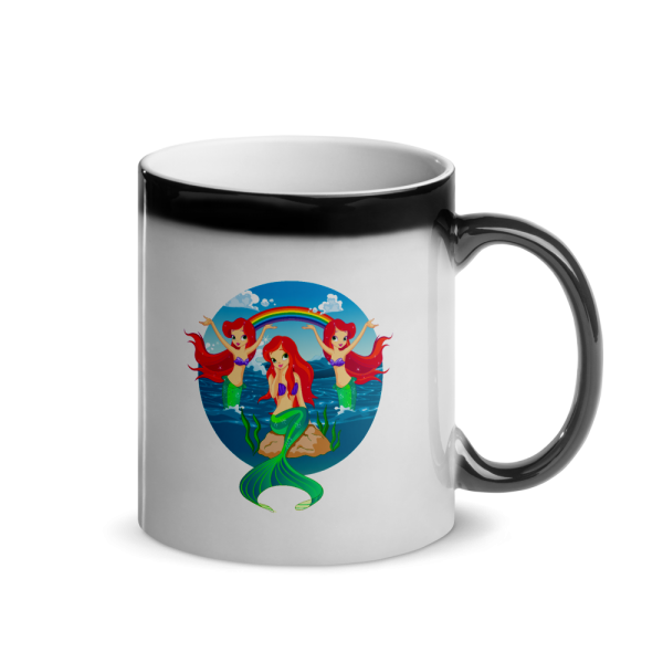 Mermaid's Paradise Glossy Magic Custom Mug Mermaid's Paradise Glossy Magic Custom Mug Mermaid's Paradise Glossy Magic Custom Mug