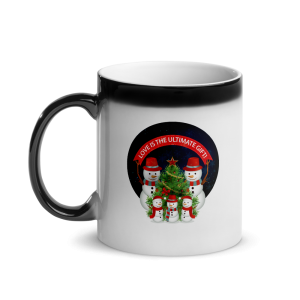 Love Is The Ultimate Gift Snowmen Christmas Glossy Magic Custom Mug Love Is The Ultimate Gift Snowmen Christmas Glossy Magic Custom Mug Love Is The Ultimate Gift Snowmen Christmas Glossy Magic Custom Mug