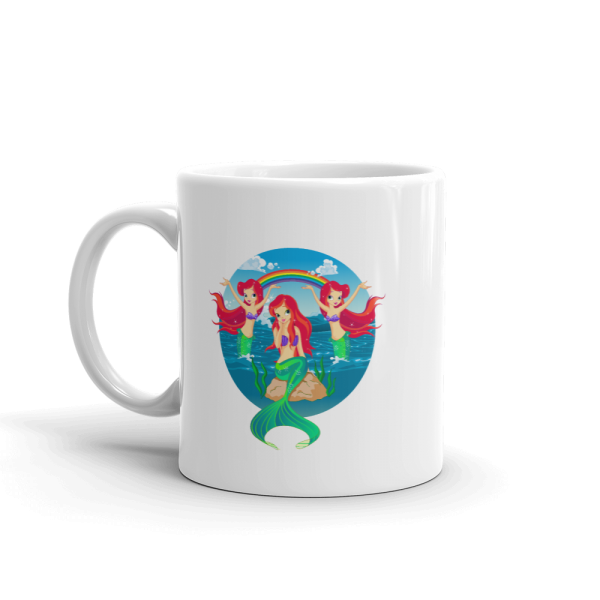 Mermaid's Paradise Custom Mug Mermaid's Paradise Custom Mug Mermaid's Paradise Custom Mug