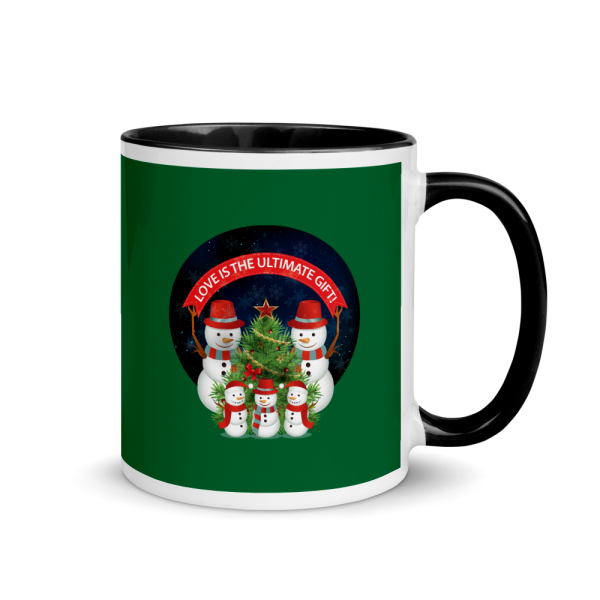 Love Is The Ultimate Gift Snowmen Christmas Custom Mug With Color Inside Love Is The Ultimate Gift Snowmen Christmas Custom Mug With Color Inside Love Is The Ultimate Gift Snowmen Christmas Custom Mug With Color Inside