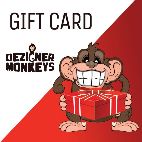 DezignerMonkeys.com Store Credit eGift Card DezignerMonkeys.com Store Credit eGift Card DezignerMonkeys.com Store Credit eGift Card