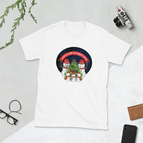 Love Is The Ultimate Gift Snowmen Christmas – SSU Custom Tees Love Is The Ultimate Gift Snowmen Christmas – SSU Custom Tees Love Is The Ultimate Gift Snowmen Christmas – SSU Custom Tees